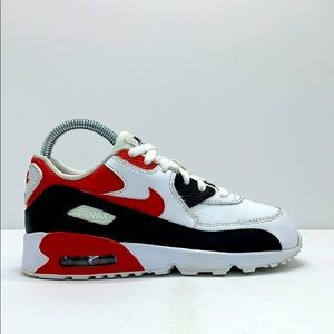 Youth 2016 Nike Air Max 90 Leather PS LTR